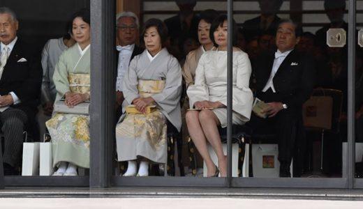 安倍昭恵夫人の正装がやばい!どこのブランドの服?まさかの着回し?
