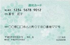 マイナンバー通知カード廃止で個人番号証明使えない?内容変更なければOK!